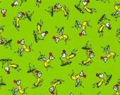 A Little Dr. Seuss, ADE-20822-7, Robert Kaufman Fabric, Dr Seuss, 100 Cotton, 1546