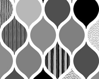 Kokka Enjoy Time, COSAP05802-2D, Japanese Fabric, Cotton Oxford Canvas, #KO06
