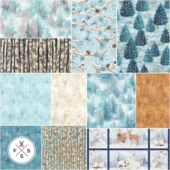 Giving Thanks 22 Fat Quarter Bundle Plus Panel by Lynnea Washburn for Robert Kaufman Fabrics FQ-1500-23