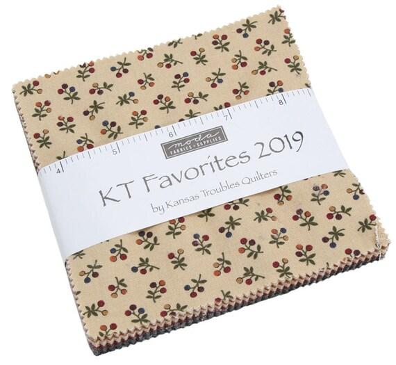 Kansas Trouble 2019 Favorites Tan designed by Kansas Troubles Quilters