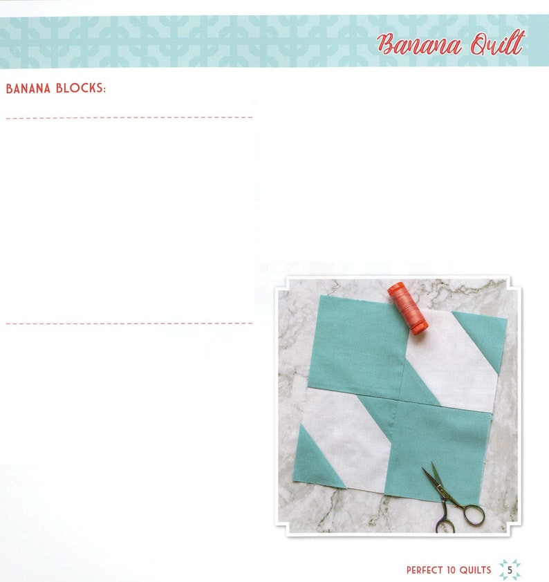 Perfect 10 Quilts Book by Its Sew Emma ISE-926