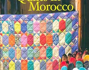 Kaffe Fassett Quilts in Morocco Fabric Quilting Book Featuring 20 Designs