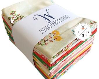 Heather Ross Sugarplum Fat Quarter Bundle 16 FQs Precut Quilting Fabric Windham