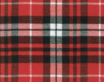Robert Kaufman Fabric, Mammoth Flannel, SRKF-14900-93 Scarlet, 100% Cotton, #207