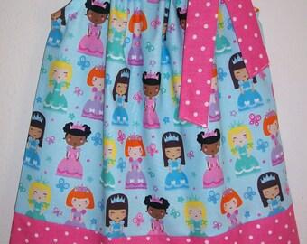 Princess Dress Girls Dresses Pillowcase Dress with Princesses Little Girls Dress Princess Clothes Princess Party Princess Birthday