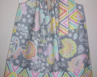 Pillowcase Dress, Paisley Dress, Floral Dress, Girls Dresses, Summer Dresses, Toddler dresses, Trendy Styles, Kids Clothes, Spring Dresses