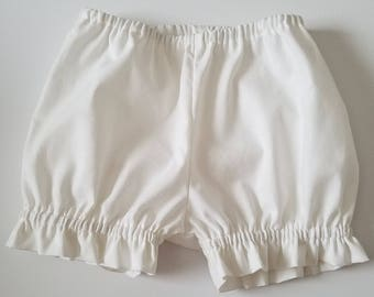 Bloomers   Ruffle Bloomers   Girls Bloomer with Ruffles   Diaper Cover   baby bloomers   toddler bloomers   Panty Covers   Under Garment