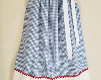 Dorothy Dress Wizard of Oz Dress Pillowcase Dress Blue Gingham Dress Oz Party Dorothy costume girls dresses baby dresses Dorothy Dresses
