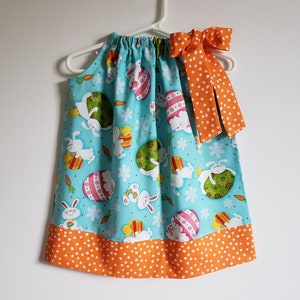 Pillowcase Dress 3-6 month dress ready to ship Easter pillowcase dress Easter dress Little Girl Dress