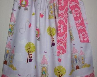 Pillowcase Dress, Princess Dress, Fairy Tale Dress, Castles, Purple and Pink, Princess Party, Girls Dresses, Kids Clothes, Princess Birthday