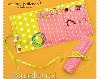 Jewelry Roll PDF Downloadable Pattern by MODKID - Instant Download