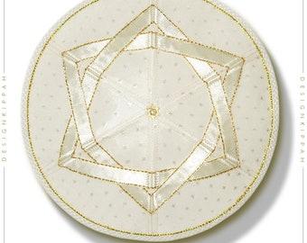 David Star kippah | Jewish wedding, Bar Mitzvah, Shabbat | Chanukah yamaka