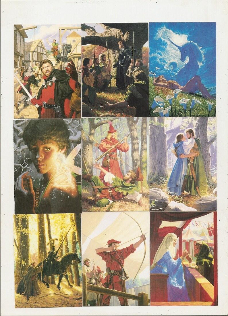 91 Old Vintage 1992 GREG HILDEBRANDT Artwork Collector Cards by Comic Images
