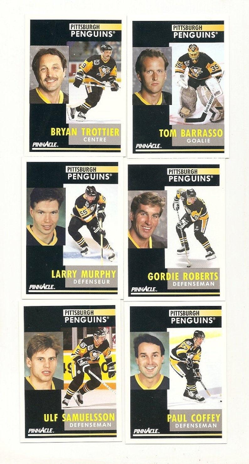 65 Old Vintage  1991 Score Pinnacle Hockey Picture Cards New YORK RANGERS /& PITTSBURGH Penguins