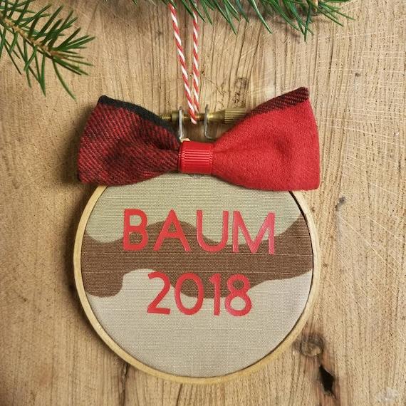 Military Custom Embroidery Hoop Ornament, Camo Christmas Ornament, Military  Gift, Customized Ornament, Lumberjack plaid