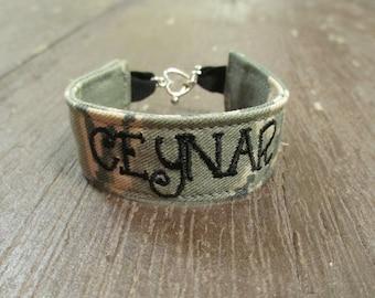 USAF Bracelet, Abu Camo Bracelet, MultiCam-OCP bracelet, U.S. Air Force Bracelet, Air Force Bracelet, USAF jewelry, Air Force Gift