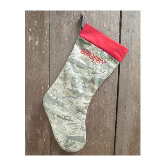 image 0 - Camo Christmas Stocking