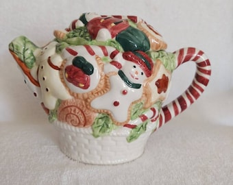 Gingerbread Teapot