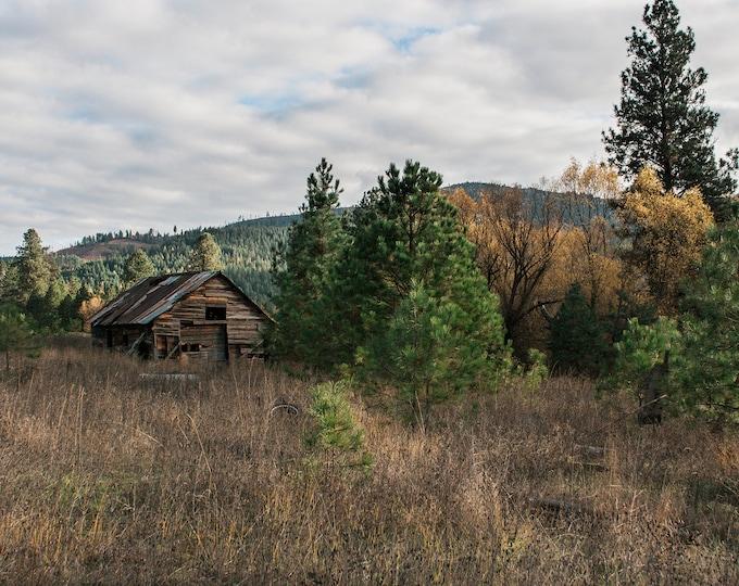 Barns Cabins Rural Life