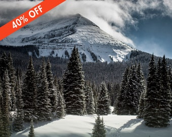 ON SALE 40% Off - The Summit, Colorado Mountain Photography, Colorado Photography, Silverton Colorado, Nature Wall Art