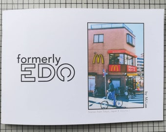 Photo Zine - formerly Edo, Scenes from TOKYO, Japan, people on the streets, Vol 1