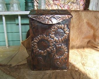 Large Sunflower Mailbox