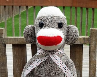 Stuffed Toy Monkeys Etsy