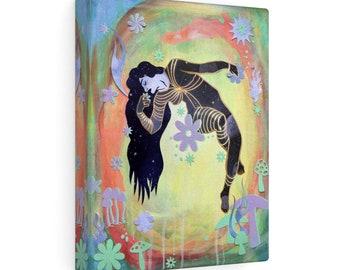 Mystical Goddess Psychedelic Art