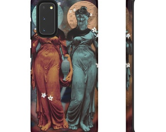 Gemini Mythology Sculpture Art Phone Case Tough Case Wearable Artwork