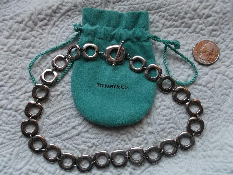 4910a156d Classic Elsa Peretti Tiffany & Co Square Cushion Choker | Etsy