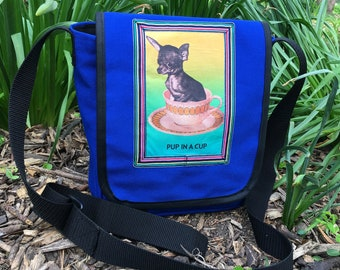 Canvas Courier Bags