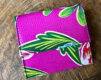 Oil Cloth wallets