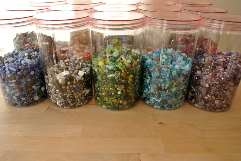 Mix glass beads 50 gram all are CZECH high quality beads in range of black shades