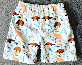 Australiana animal shorts