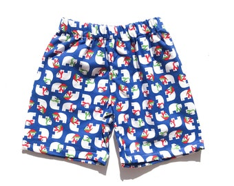Polar Bear Christmas Shorts
