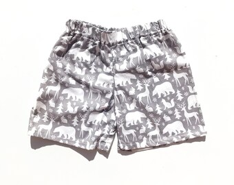 Woodland Christmas Shorts