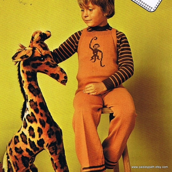 Vintage 70s Empisal Knitting Machine Patterns Etsy