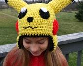 Items Similar To Custom Crochet Pokemon Pikachu Crochet