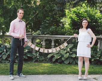 Save the Date wedding banner, save the date,bachelorette, wedding date banner, wedding banner, photo prop sign, engagement signs