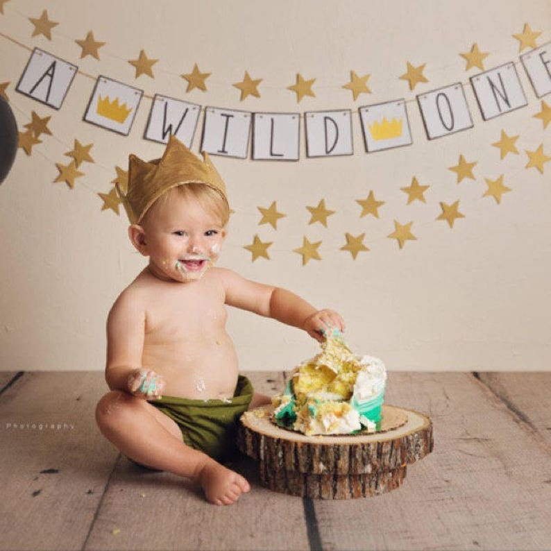 Where The Wild Things Are Banner Party One Year Old