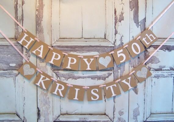 happy birthday bannerhappy birthday personalized etsy