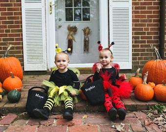 bumble bee ladybug costumes baby girl twin halloween costumes twin halloween tutus