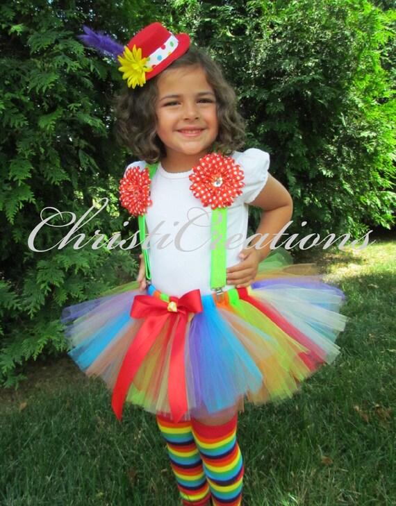 CLOWN clown costume clown tutu clown tutu dress clown