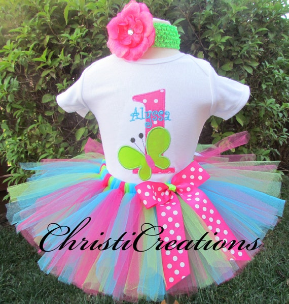 1st Birthday Tutu Outfits.Butterfly 1st Birthday Tutu Outfit Baby Girl Cake Smash Butterfly Birthday Baby Girl 1st Birthday