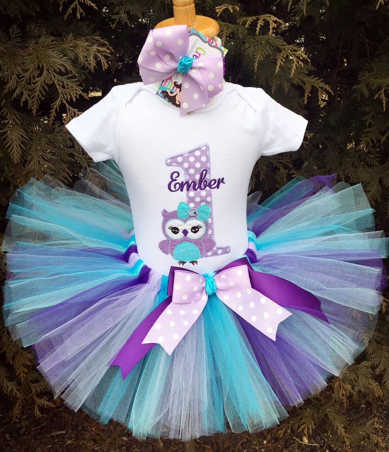 Awesome Baby Girl 1St Birthday Outfit Owl 1St Birthday Outfit Cake Etsy Funny Birthday Cards Online Fluifree Goldxyz