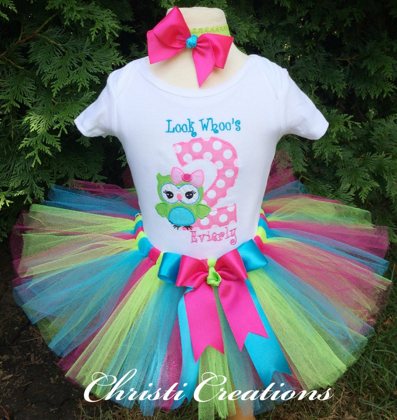 2nd Birthday Outfit Girl Owl Birthday Party Owl Birthday Etsy