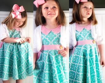 pink Plaid check dress toddler Valentines Day girls Easter dresses Valentine twirl pink Buffalo Plaid dress Girls pink Valentine dress