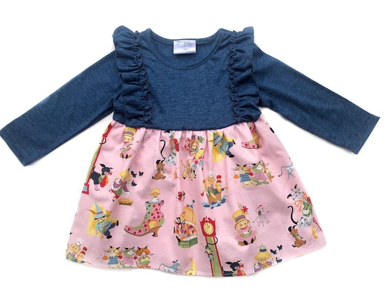 school picture day dresse kindergarten outfit School dresses Girls Back to school top nursery rhyme dress Preschool dress