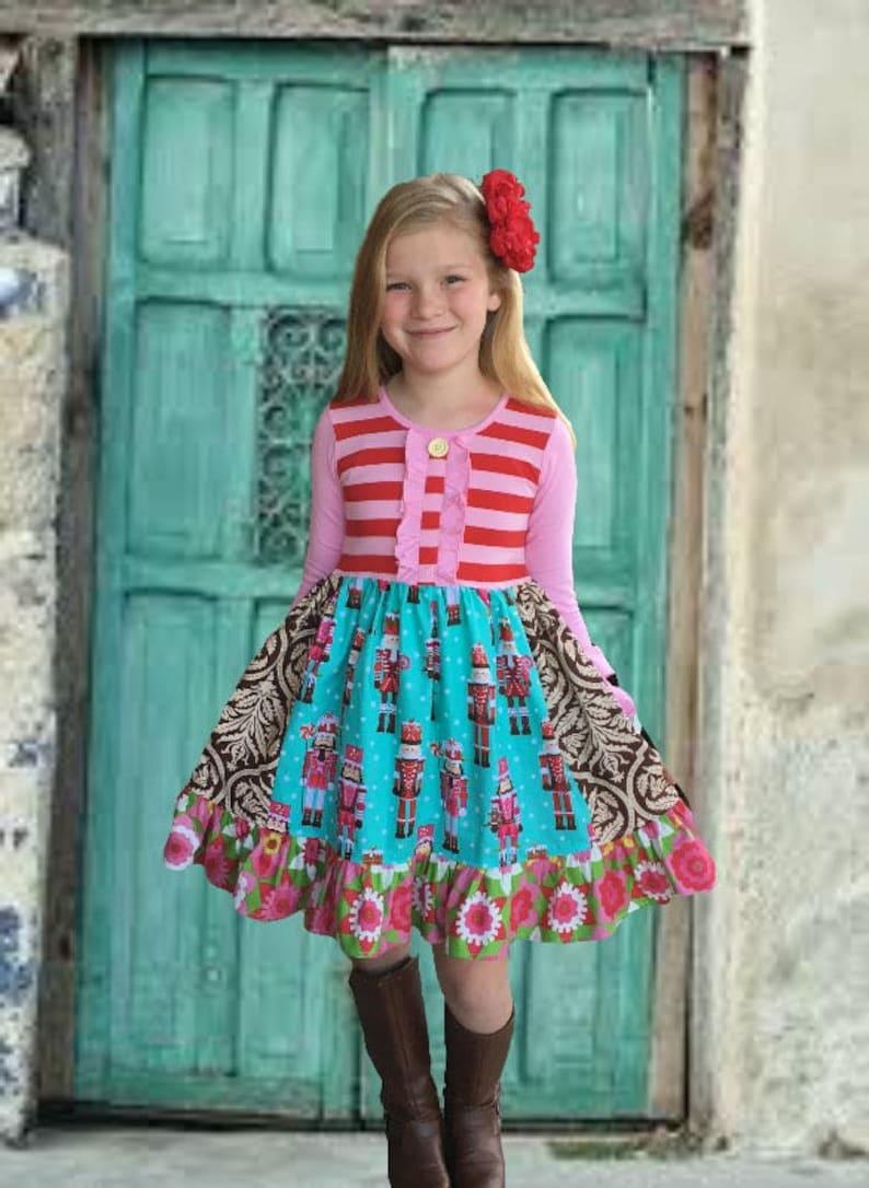 884f1efa5 Christmas Nutcracker Ballet dress girl s toddler holiday