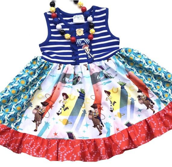 Disney Girls Toy Story Dress